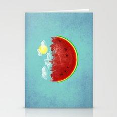 Watermelon City Stationery Cards