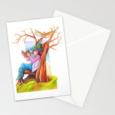 The beginning of an adventure Stationery Cards