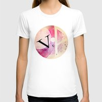 VEA 21 Womens Fitted Tee White SMALL