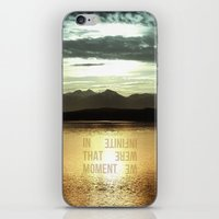 In That Moment, We Were … iPhone & iPod Skin