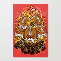 Balls Of Fury Canvas Print