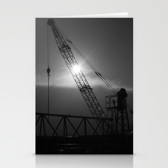 crane spotting... Stationery Card