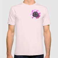 Hello Spring - The Heart… Mens Fitted Tee Light Pink SMALL