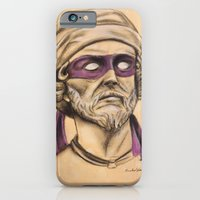 iPhone & iPod Case featuring Donnie TMNT by Rachel M. Loose