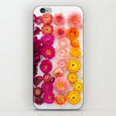 Rainbow Flower Pattern 4 iPhone & iPod Skin
