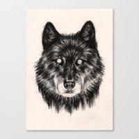 Moon Eyes Canvas Print