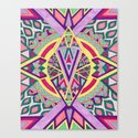 Abstract Journey Canvas Print
