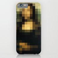 PIXELEON-Monalisa iPhone 6 Slim Case