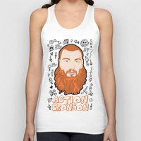Action Bronson Portrait … Unisex Tank Top