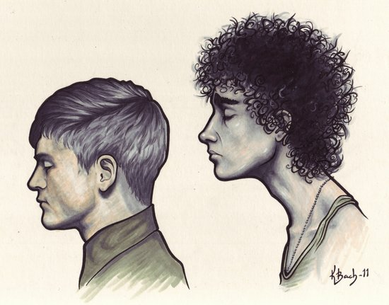 Simon & Nathan Art Print