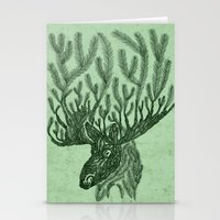 Moose-fir Stationery Cards