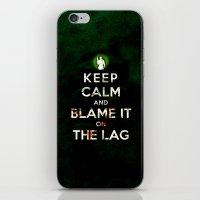 Keep Calm And Blame It O… iPhone & iPod Skin