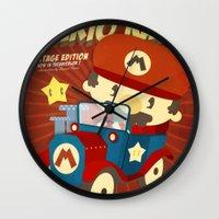 Mario Kart Vintage Wall Clock