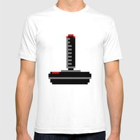 Joy Mens Fitted Tee White SMALL