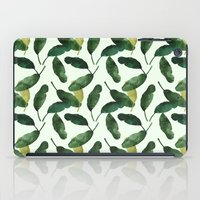Banana Leaves iPad Case