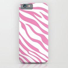 Pink Zebra iPhone 6 Slim Case