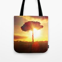 Lonely Tree. Tote Bag