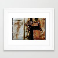 Rust and Rubble Framed Art Print