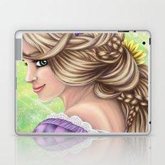 Rapunzel Portrait Laptop & iPad Skin