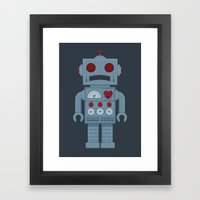 They Gave You A Heart Framed Art Print