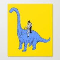 Dinosaur B Canvas Print