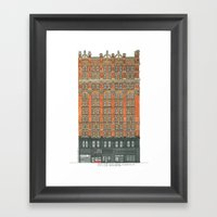 Don't Forget to Look Up: Potter Building Framed Art Print