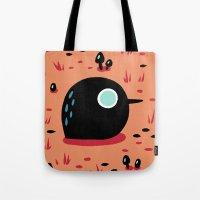 Black Bird Tote Bag