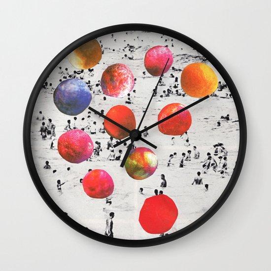 BEACH BALLS Wall Clock