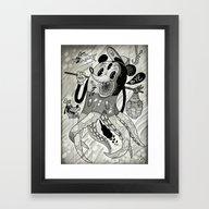 Rock Bottom  Framed Art Print