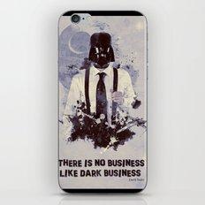 Dark Business. iPhone & iPod Skin