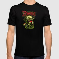 Legend of Zombie SMALL Mens Fitted Tee Black