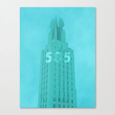 Time Square Building Rochester NY Canvas Print
