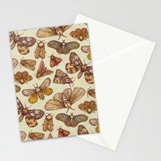 Moth Pattern Stationery Cards
