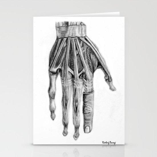 Hand Stationery Card