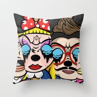 The Mickey Mouse Club Throw Pillow