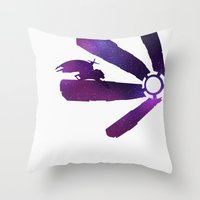 Mass Effect 1 (w/quote) Throw Pillow
