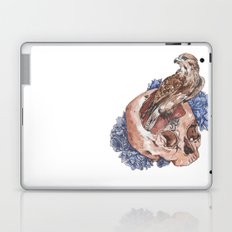 Hawk and Skull Laptop & iPad Skin