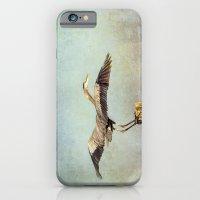 Blue Heron Landing iPhone 6 Slim Case