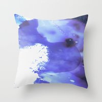 GALAXY {BLUE} Throw Pillow