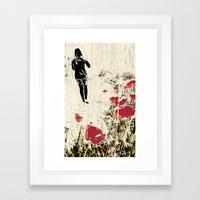 En god sak Framed Art Print