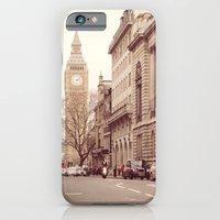 iPhone & iPod Case featuring London Girl by Gisele Morgan