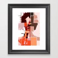 K'naan Framed Art Print