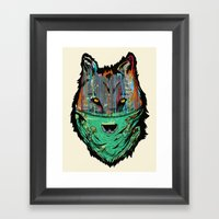 Wolf Mother - Screen Pri… Framed Art Print