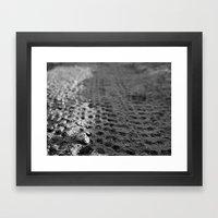 Tread 2015 B/W Framed Art Print