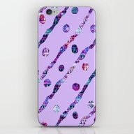 iPhone & iPod Skin featuring Ethnic Lilac by Haroulita