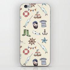 Nautical Pattern iPhone & iPod Skin