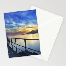 Smooth river. Stationery Cards