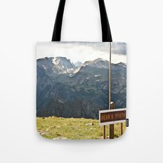 The Bear's Tooth Tote Bag