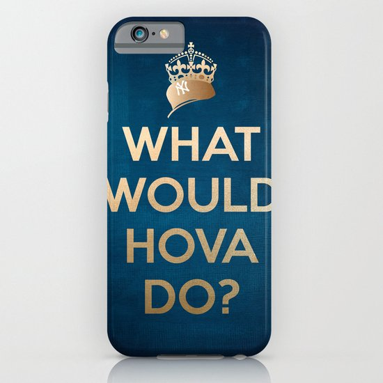 What Would Hova Do? - Jay-Z iPhone & iPod Case