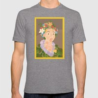 Flora By  Giuseppe Arcim… Mens Fitted Tee Tri-Grey SMALL